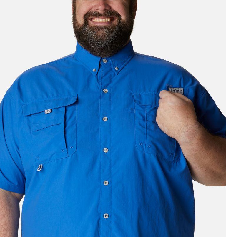 Bahama™ II S/S Shirt   487   3X Men's PFG Bahama™ II Short Sleeve Shirt - Big, Vivid Blue, a2