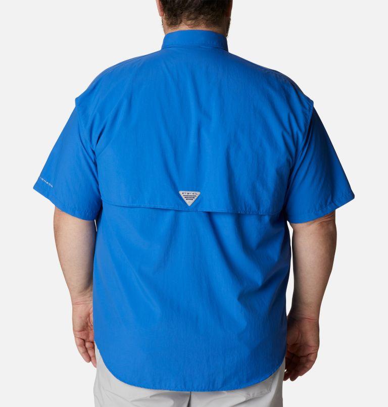 Bahama™ II S/S Shirt | 487 | 5X Men's PFG Bahama™ II Short Sleeve Shirt - Big, Vivid Blue, back