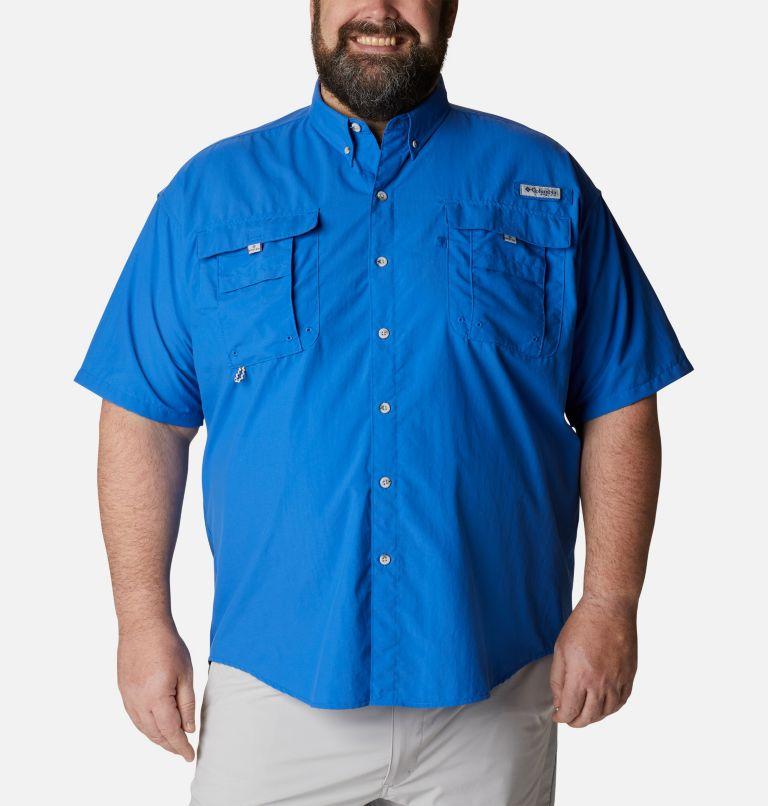 Bahama™ II S/S Shirt | 487 | 5X Men's PFG Bahama™ II Short Sleeve Shirt - Big, Vivid Blue, front