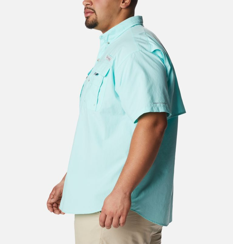Bahama™ II S/S Shirt | 499 | 3X Men's PFG Bahama™ II Short Sleeve Shirt - Big, Gulf Stream, a1