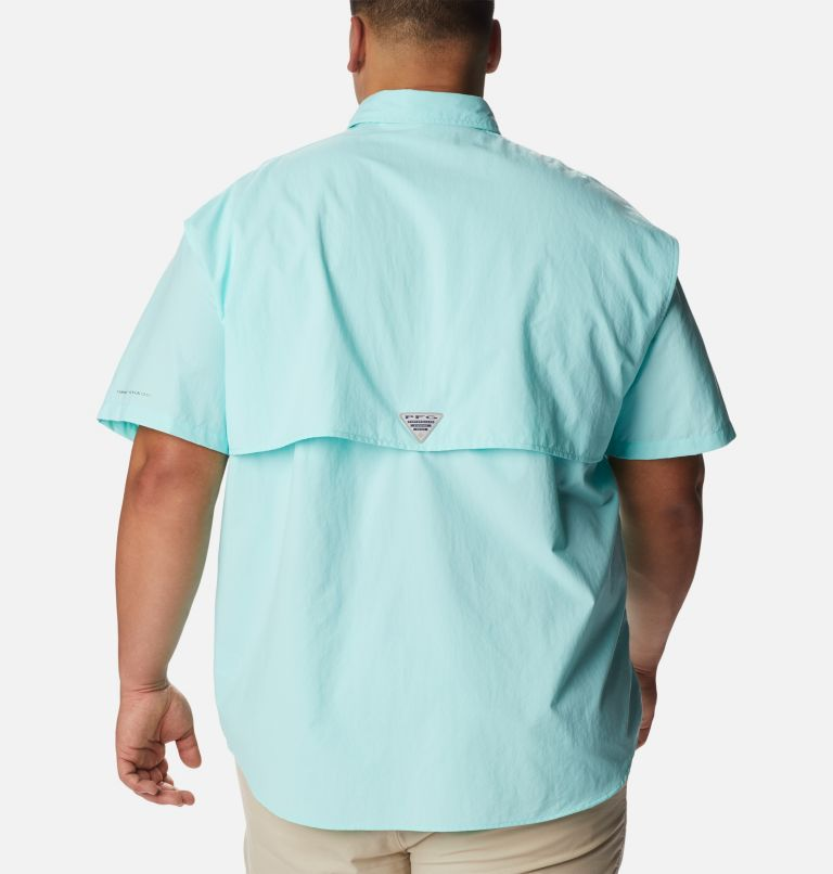 Bahama™ II S/S Shirt | 499 | 2X Men's PFG Bahama™ II Short Sleeve Shirt - Big, Gulf Stream, back
