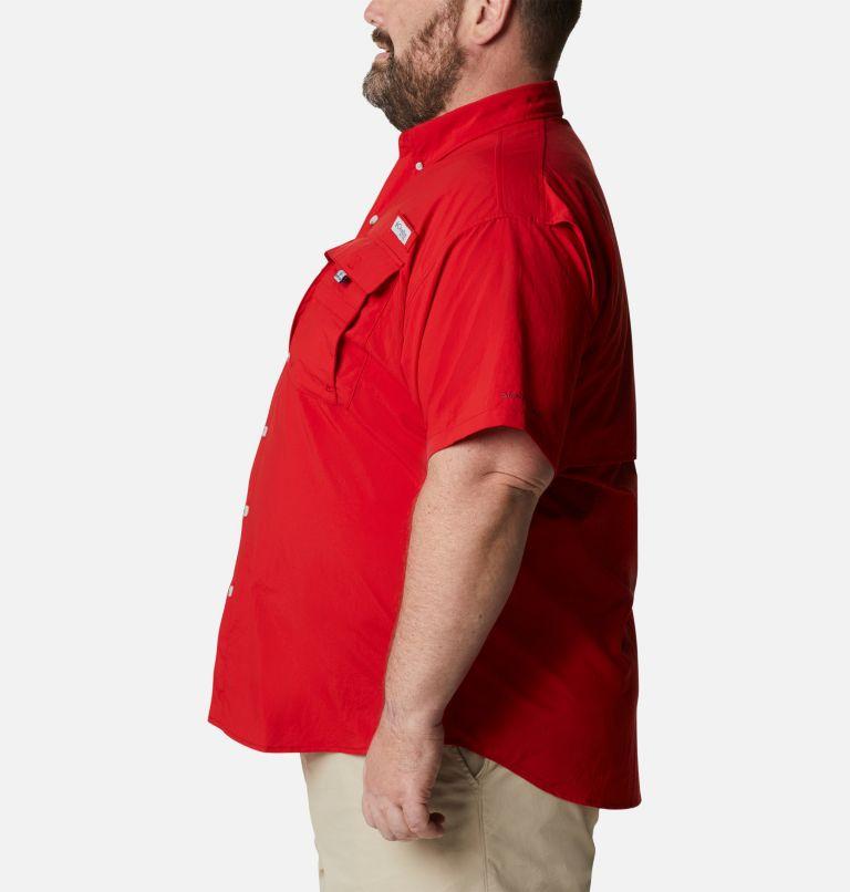 Bahama™ II S/S Shirt | 696 | 1X Men's PFG Bahama™ II Short Sleeve Shirt - Big, Red Spark, a1