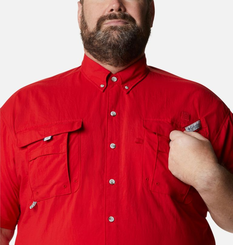 Bahama™ II S/S Shirt | 696 | 3X Men's PFG Bahama™ II Short Sleeve Shirt - Big, Red Spark, a2