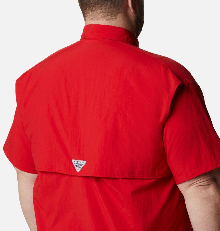 Bahama™ II S/S Shirt | 696 | 1X Men's PFG Bahama™ II Short Sleeve Shirt - Big, Red Spark, a3