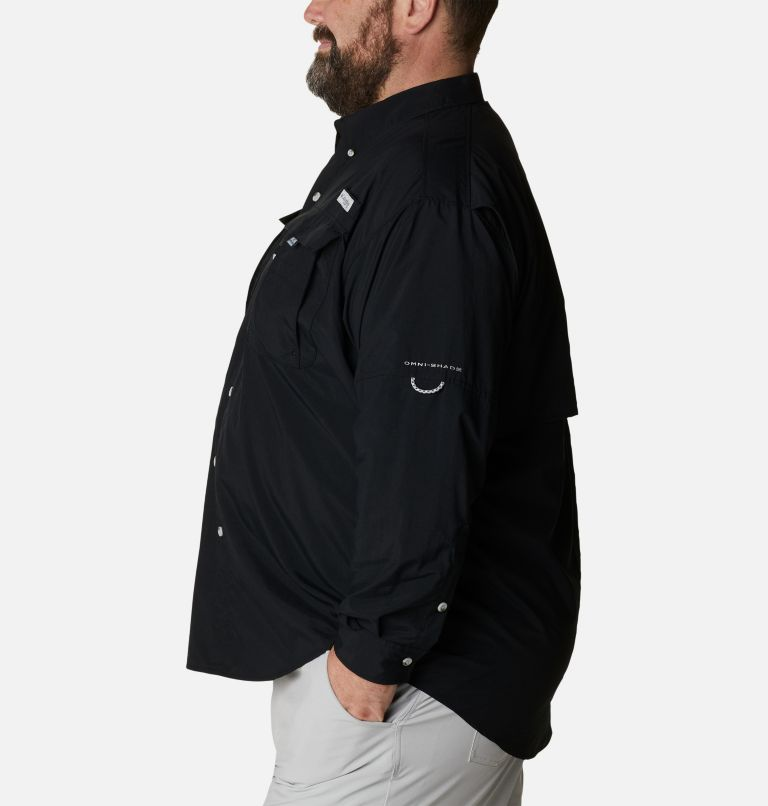Bahama™ II L/S Shirt | 010 | 5X Men's PFG Bahama™ II Long Sleeve Shirt - Big, Black, a1