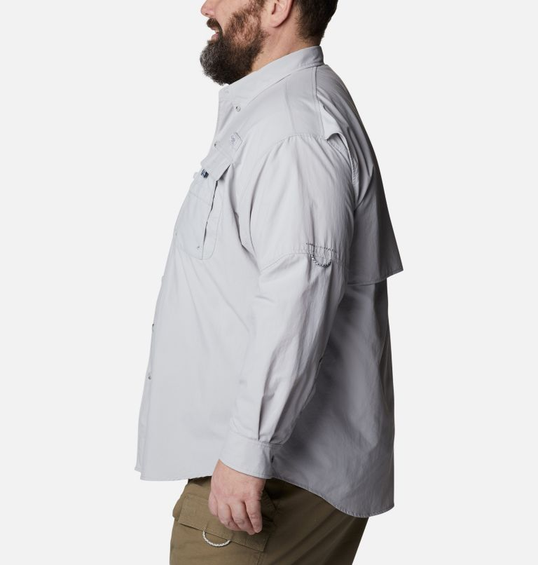 Bahama™ II L/S Shirt | 019 | 3X Men's PFG Bahama™ II Long Sleeve Shirt - Big, Cool Grey, a1