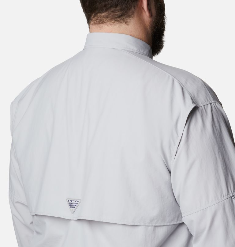 Bahama™ II L/S Shirt | 019 | 5X Men's PFG Bahama™ II Long Sleeve Shirt - Big, Cool Grey, a3