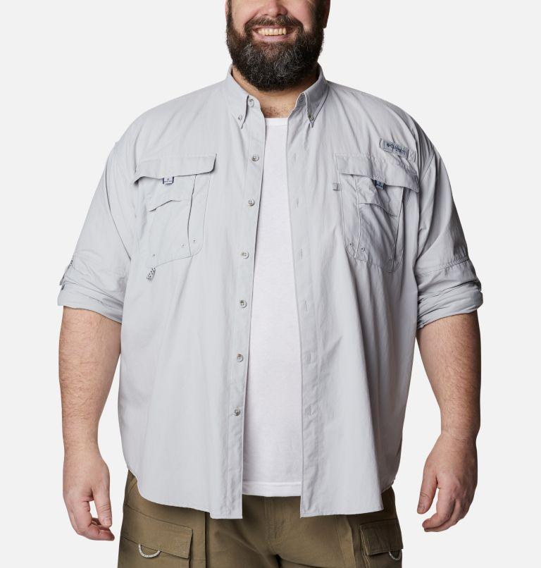 Bahama™ II L/S Shirt | 019 | 6X Men's PFG Bahama™ II Long Sleeve Shirt - Big, Cool Grey, a4