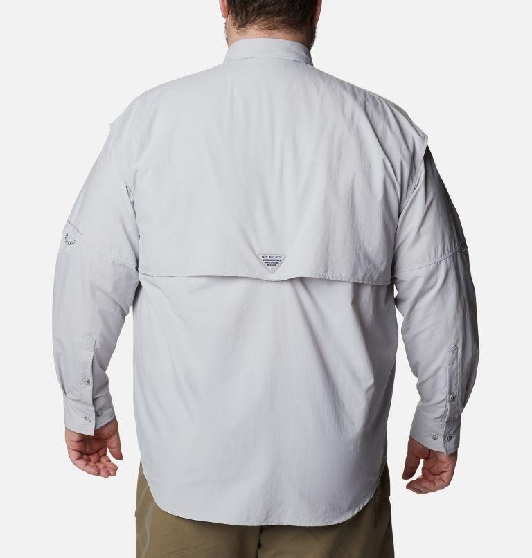 Bahama™ II L/S Shirt | 019 | 6X Men's PFG Bahama™ II Long Sleeve Shirt - Big, Cool Grey, back
