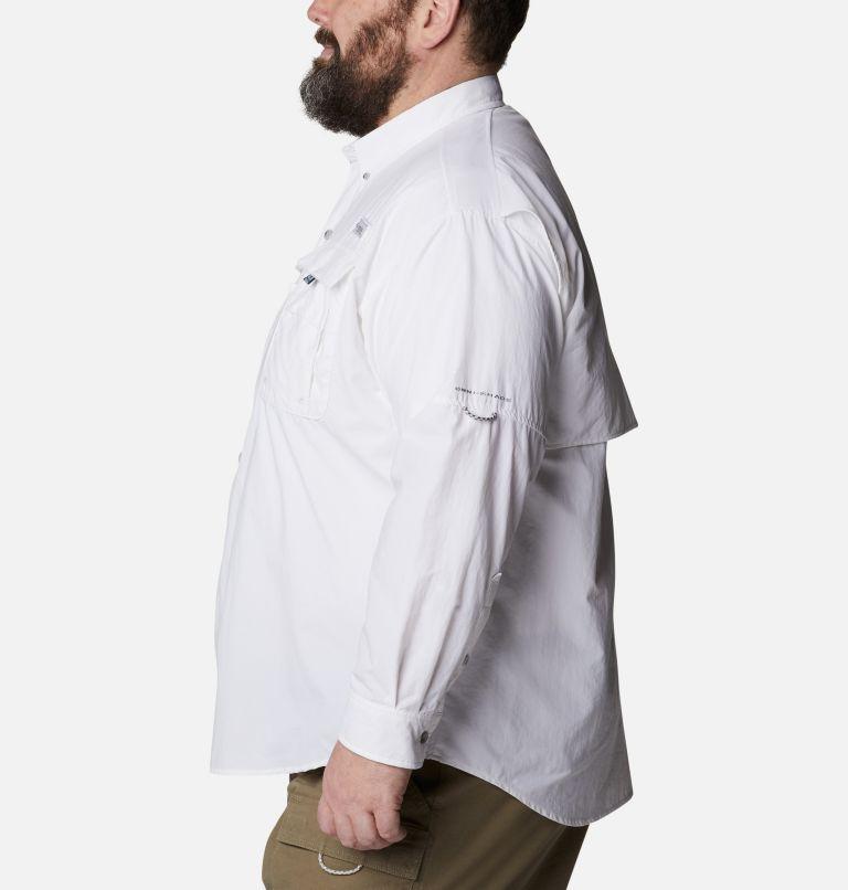 Bahama™ II L/S Shirt | 100 | 2X Men's PFG Bahama™ II Long Sleeve Shirt - Big, White, a1
