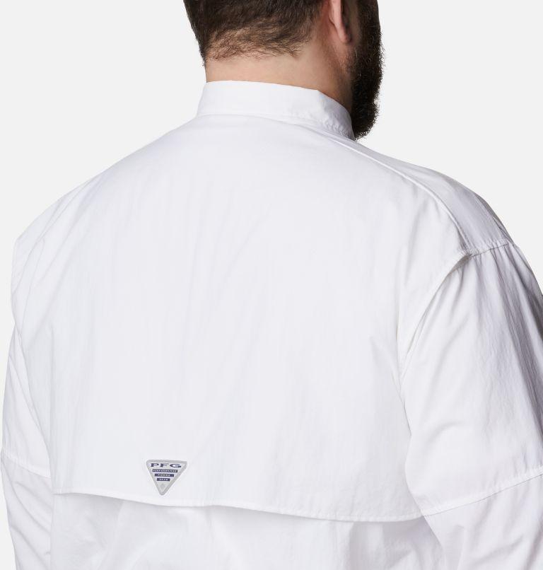 Bahama™ II L/S Shirt | 100 | 1X Men's PFG Bahama™ II Long Sleeve Shirt - Big, White, a3