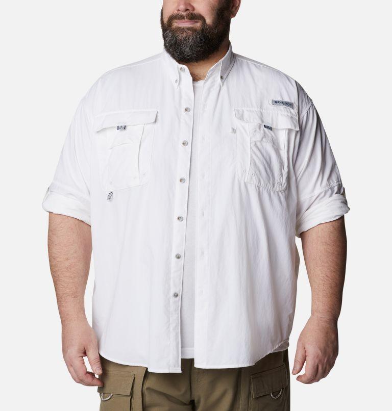 Bahama™ II L/S Shirt | 100 | 5X Men's PFG Bahama™ II Long Sleeve Shirt - Big, White, a4