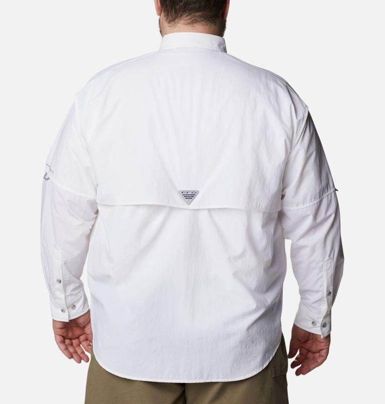 Bahama™ II L/S Shirt | 100 | 5X Men's PFG Bahama™ II Long Sleeve Shirt - Big, White, back