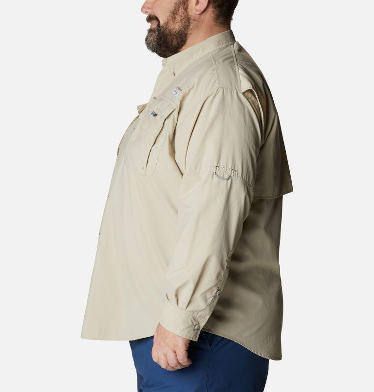 Bahama™ II L/S Shirt | 160 | 4X Men's PFG Bahama™ II Long Sleeve Shirt - Big, Fossil, a1