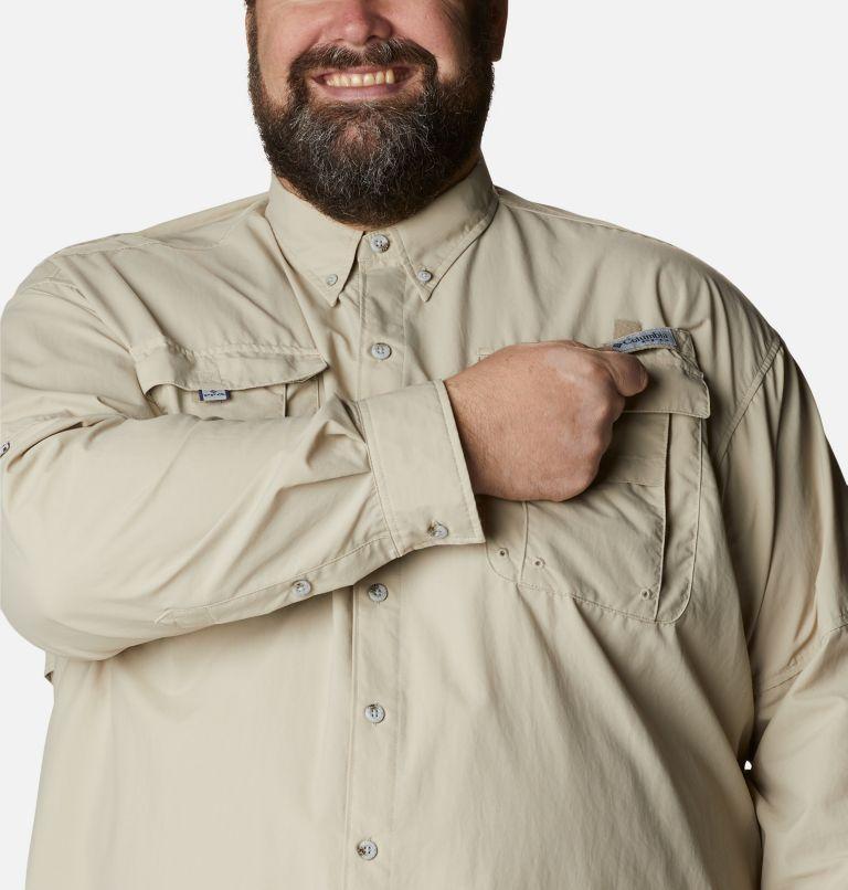 Bahama™ II L/S Shirt | 160 | 4X Men's PFG Bahama™ II Long Sleeve Shirt - Big, Fossil, a2
