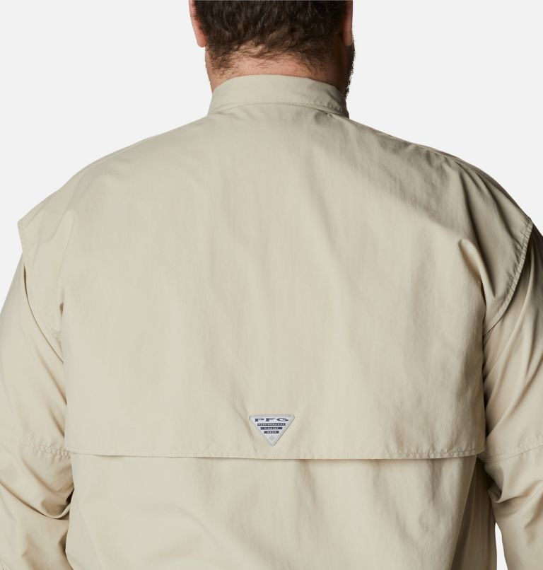 Bahama™ II L/S Shirt | 160 | 4X Men's PFG Bahama™ II Long Sleeve Shirt - Big, Fossil, a3