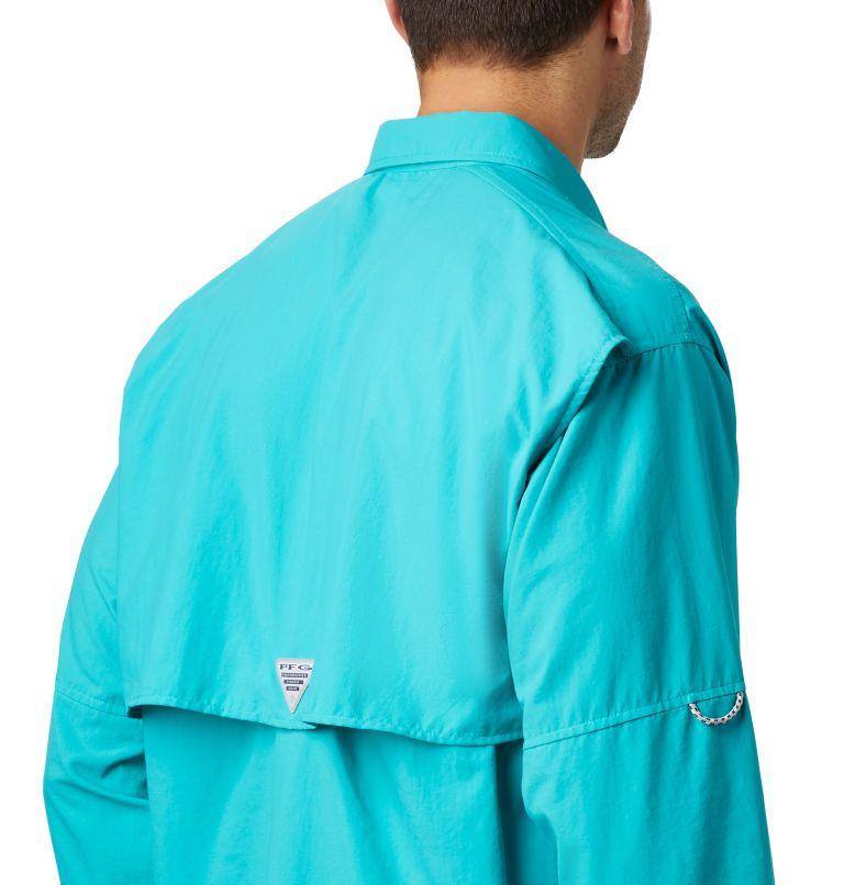 Bahama™ II L/S Shirt | 456 | 3X Men's PFG Bahama™ II Long Sleeve Shirt - Big, Bright Aqua, a3
