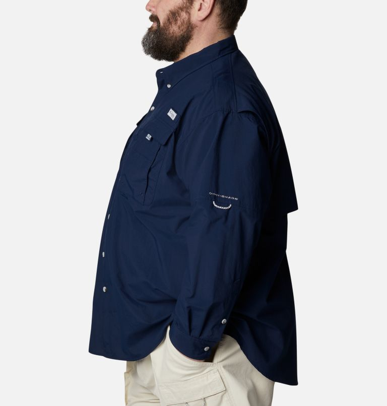Bahama™ II L/S Shirt | 464 | 6X Men's PFG Bahama™ II Long Sleeve Shirt - Big, Collegiate Navy, a1