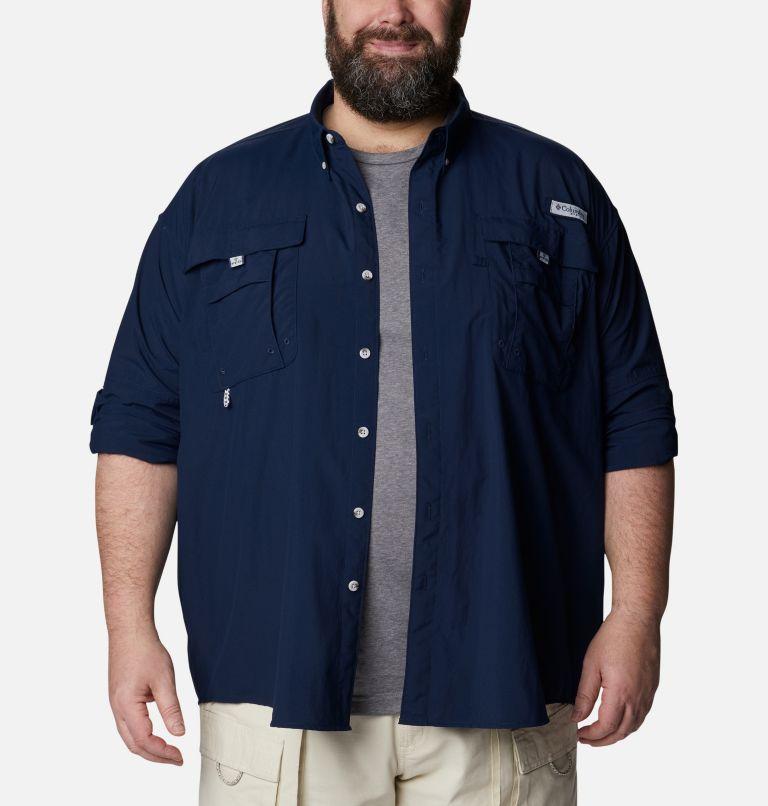 Bahama™ II L/S Shirt | 464 | 6X Men's PFG Bahama™ II Long Sleeve Shirt - Big, Collegiate Navy, a4