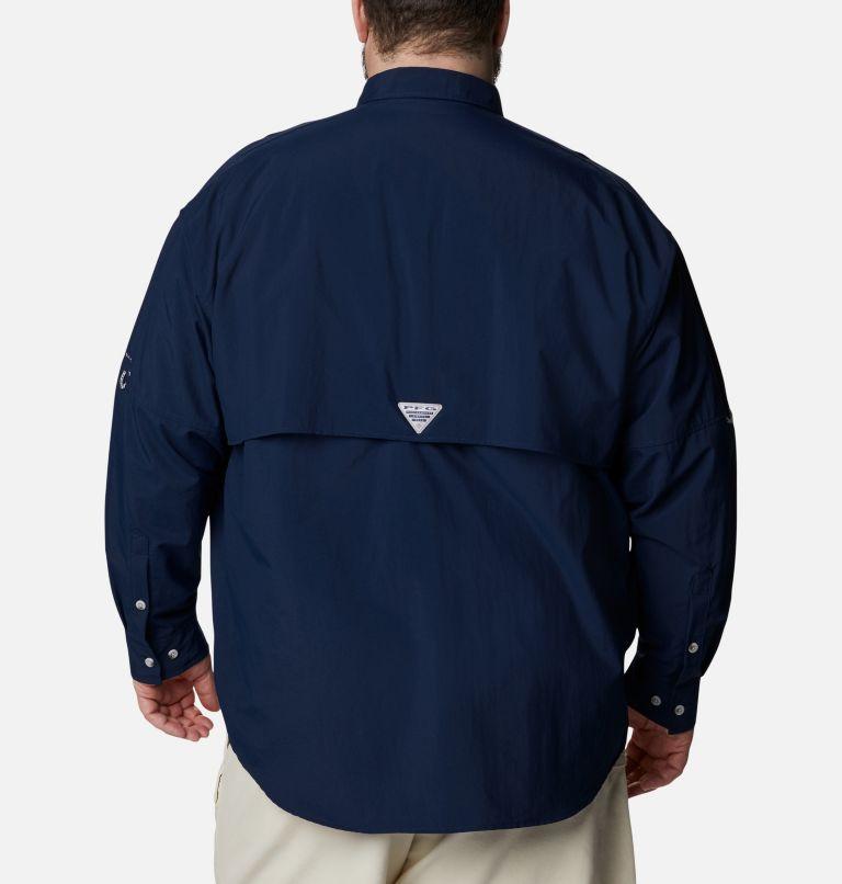 Bahama™ II L/S Shirt | 464 | 6X Men's PFG Bahama™ II Long Sleeve Shirt - Big, Collegiate Navy, back