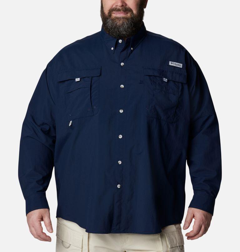 Bahama™ II L/S Shirt | 464 | 6X Men's PFG Bahama™ II Long Sleeve Shirt - Big, Collegiate Navy, front