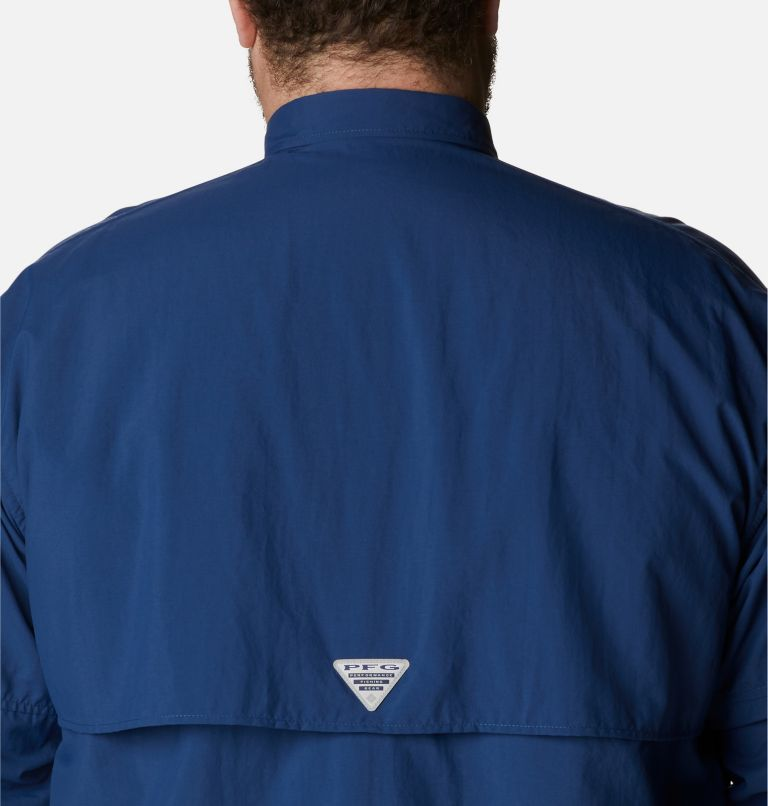Bahama™ II L/S Shirt | 469 | 5X Men's PFG Bahama™ II Long Sleeve Shirt - Big, Carbon, a3