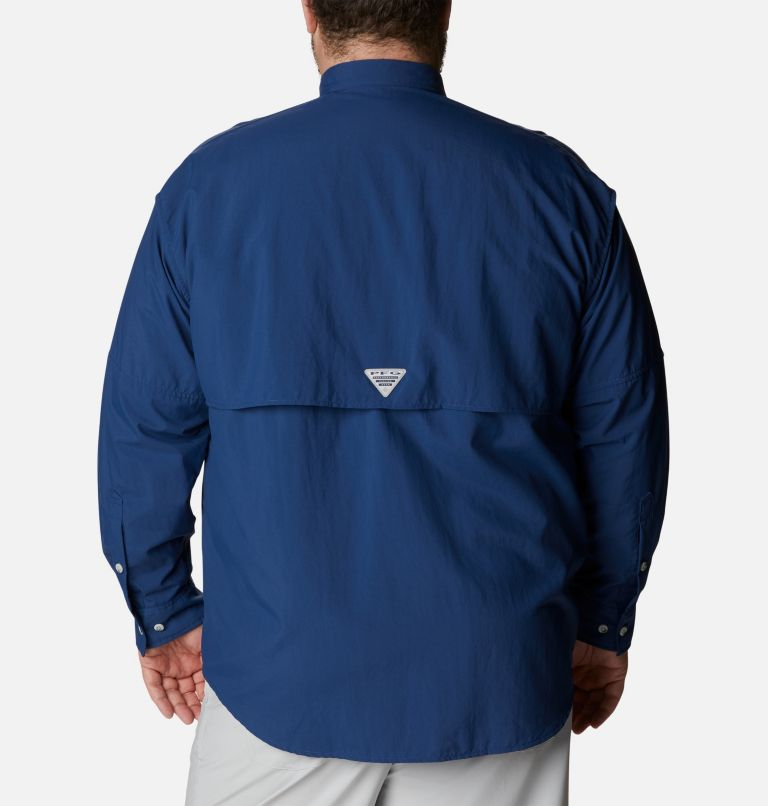 Bahama™ II L/S Shirt | 469 | 1X Men's PFG Bahama™ II Long Sleeve Shirt - Big, Carbon, back