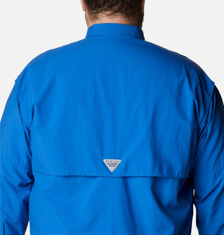 Bahama™ II L/S Shirt | 487 | 2X Men's PFG Bahama™ II Long Sleeve Shirt - Big, Vivid Blue, a3