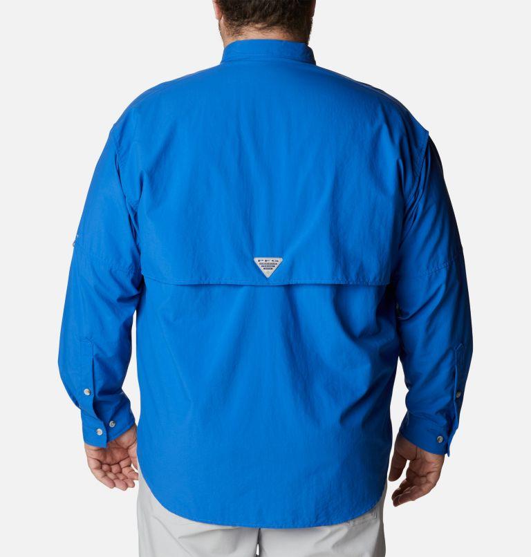 Bahama™ II L/S Shirt | 487 | 4X Men's PFG Bahama™ II Long Sleeve Shirt - Big, Vivid Blue, back