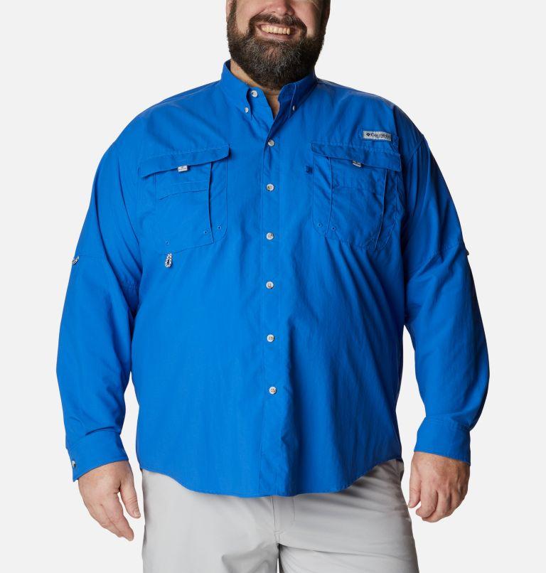 Bahama™ II L/S Shirt | 487 | 4X Men's PFG Bahama™ II Long Sleeve Shirt - Big, Vivid Blue, front
