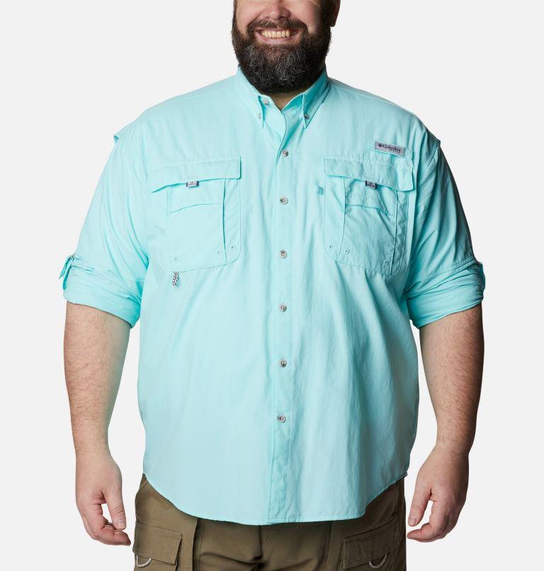 Bahama™ II L/S Shirt | 499 | 4X Men's PFG Bahama™ II Long Sleeve Shirt - Big, Gulf Stream, a4