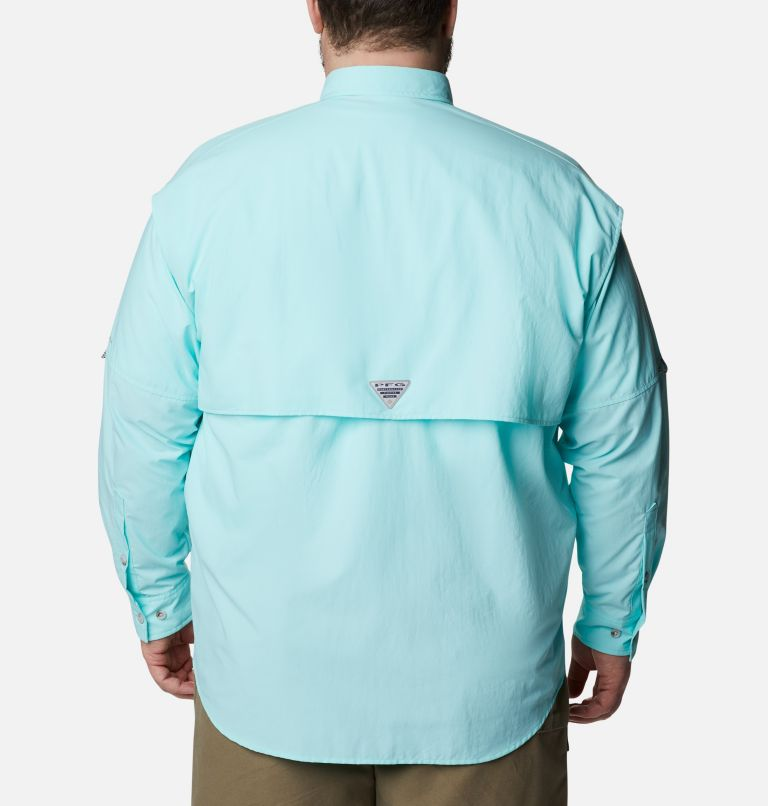 Bahama™ II L/S Shirt | 499 | 4X Men's PFG Bahama™ II Long Sleeve Shirt - Big, Gulf Stream, back