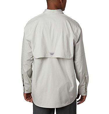 Men's PFG Bonehead™ Long Sleeve Shirt - Big Bonehead™ LS Shirt | 019 | 6X, Cool Grey, back