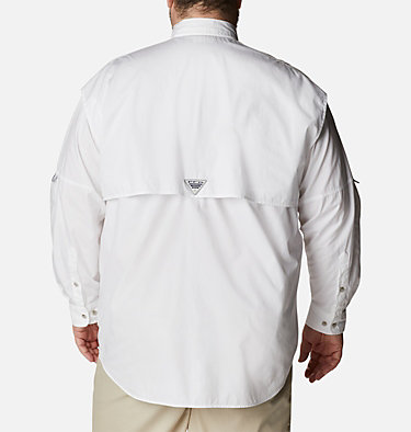 Men's PFG Bonehead™ Long Sleeve Shirt - Big Bonehead™ LS Shirt | 019 | 6X, White, back