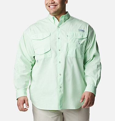 Men's PFG Bonehead™ Long Sleeve Shirt - Big Bonehead™ LS Shirt | 019 | 6X, Key West, front