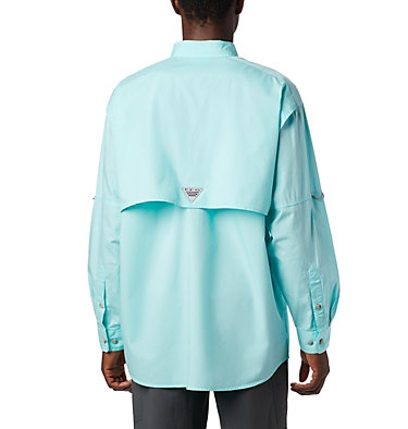 Men's PFG Bonehead™ Long Sleeve Shirt - Big Bonehead™ LS Shirt | 019 | 6X, Gulf Stream, back