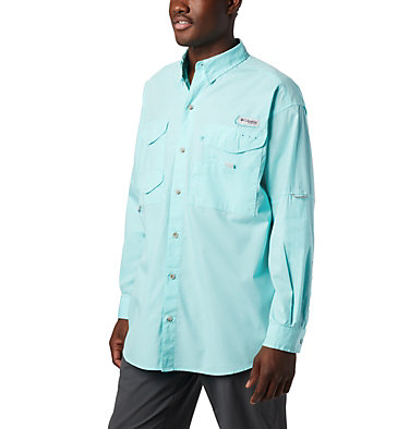 Men's PFG Bonehead™ Long Sleeve Shirt - Big Bonehead™ LS Shirt | 019 | 6X, Gulf Stream, front