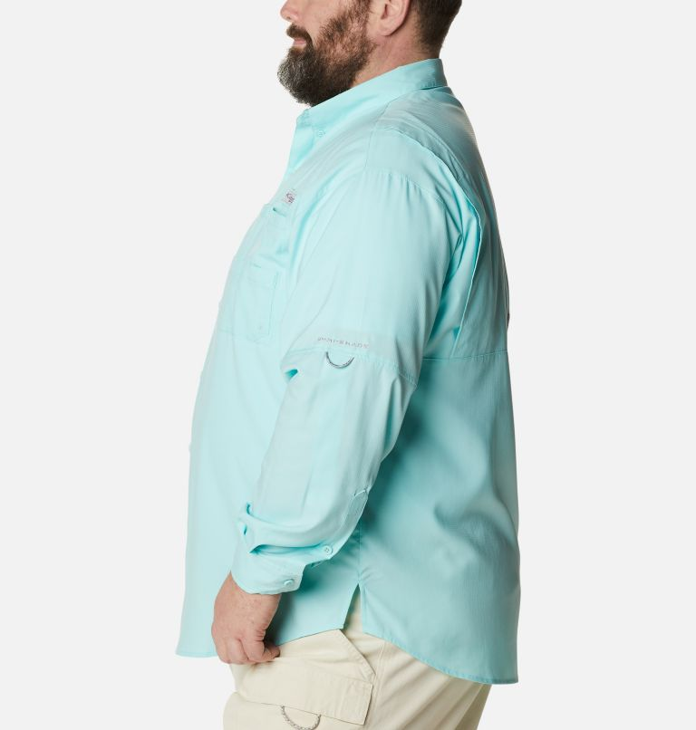 Tamiami™ II LS Shirt | 499 | 6X Men's PFG Tamiami™ II Long Sleeve Shirt - Big, Gulf Stream, a1