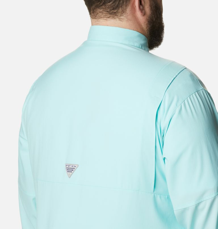 Tamiami™ II LS Shirt | 499 | 6X Men's PFG Tamiami™ II Long Sleeve Shirt - Big, Gulf Stream, a3