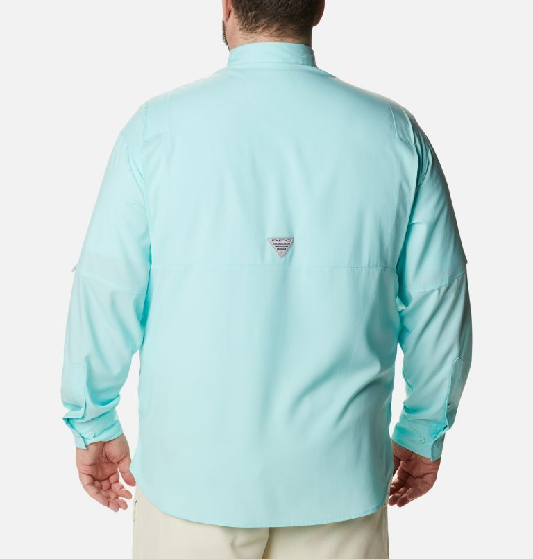Tamiami™ II LS Shirt | 499 | 6X Men's PFG Tamiami™ II Long Sleeve Shirt - Big, Gulf Stream, back