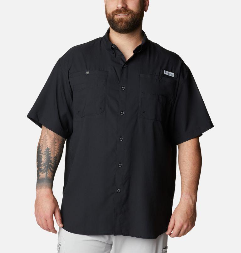 Tamiami™ II SS Shirt | 010 | 6X Men's PFG Tamiami™ II Short Sleeve Shirt - Big, Black, front