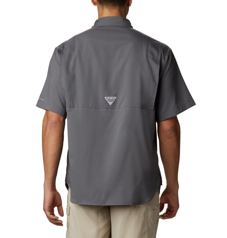 Tamiami™ II SS Shirt | 023 | 4X Men's PFG Tamiami™ II Short Sleeve Shirt - Big, City Grey, back