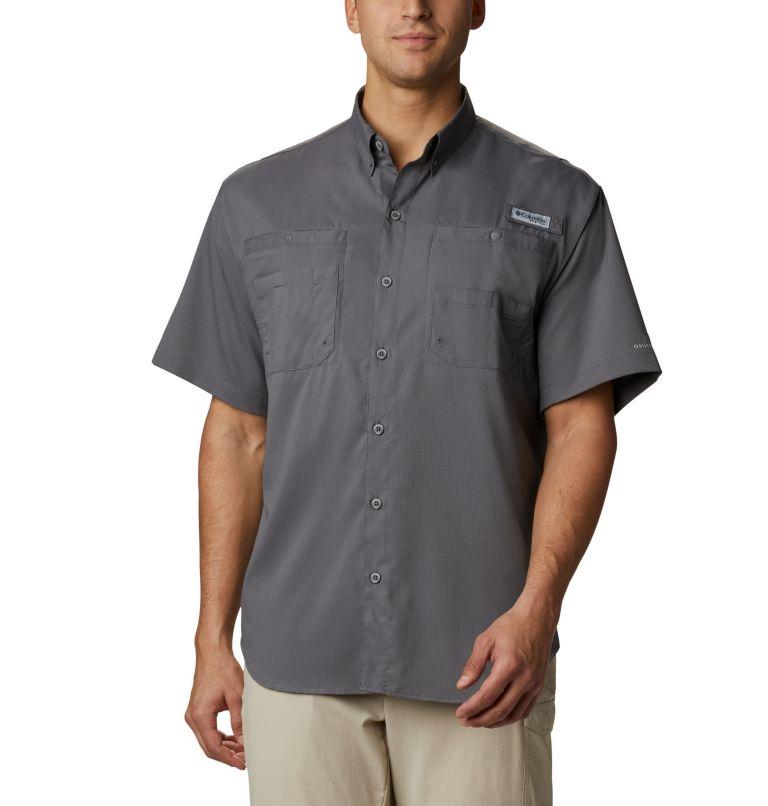 Tamiami™ II SS Shirt | 023 | 4X Men's PFG Tamiami™ II Short Sleeve Shirt - Big, City Grey, front
