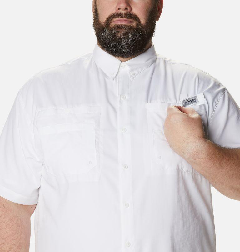 Tamiami™ II SS Shirt   100   4X Men's PFG Tamiami™ II Short Sleeve Shirt - Big, White, a2