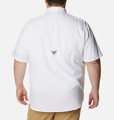 Men's PFG Tamiami™ II Short Sleeve Shirt - Big Tamiami™ II SS Shirt | 479 | 4X, White, back