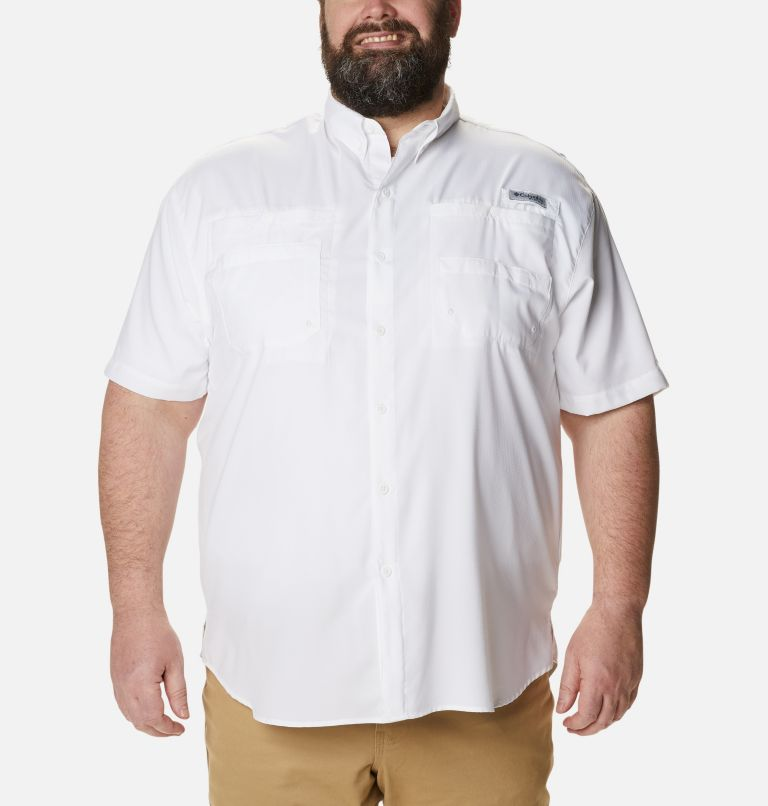 Tamiami™ II SS Shirt | 100 | 3X Men's PFG Tamiami™ II Short Sleeve Shirt - Big, White, front