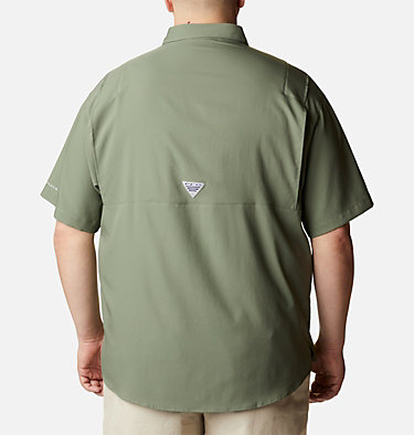Men's PFG Tamiami™ II Short Sleeve Shirt - Big Tamiami™ II SS Shirt | 479 | 4X, Cypress, back