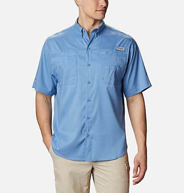 Men's PFG Tamiami™ II Short Sleeve Shirt - Big Tamiami™ II SS Shirt | 479 | 4X, Skyler, front