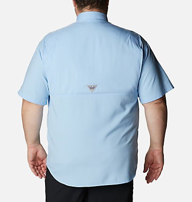 Men's PFG Tamiami™ II Short Sleeve Shirt - Big Tamiami™ II SS Shirt | 479 | 4X, Sail, back