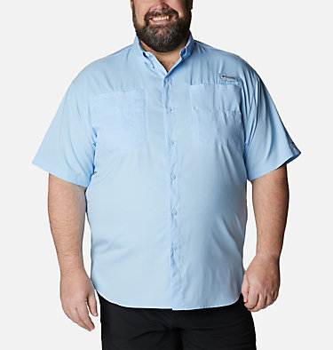 Men's PFG Tamiami™ II Short Sleeve Shirt - Big Tamiami™ II SS Shirt | 479 | 4X, Sail, front